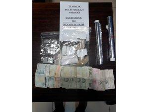 Gaziantep'te televizyon sehpası içerisine gizlenmiş uyuşturucu ele geçirildi