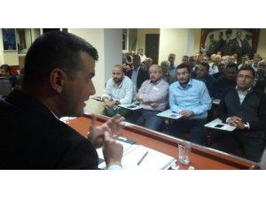 Aydın MHP istişare toplantısında gündemi değerlendirdi