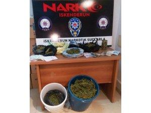 İskenderun'da uyuşturucu operasyonları: 35 gözaltı