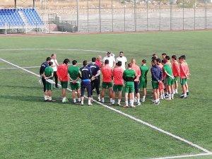 Yeşilyurt Belediyespor'da Kilis Belediyespor maçı hazırlıkları sürüyor