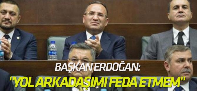 """Erdoğan, """"Yol arkadaşımı feda etmem"""" dediği an..."""