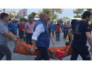 GÜNCELLEME - Alışveriş merkezinde yürüyen merdiven kazası: 28 yaralı