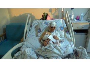 Pitbullun saldırdığı anne ve kızı tedavi için Kırıkkale'de