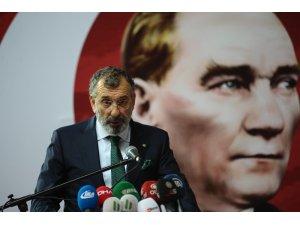 Hüseyin Akdemir'den Bursaspor'a 1 milyon Lira bağış
