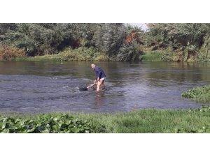 Asi Nehri'nde kaybolan çocuğun cesedi bulundu
