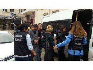 Bursa'da 5 kilo esrar ele geçirildi