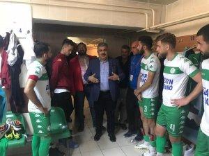 Özgüven'den Ereğlispor'a tebrik