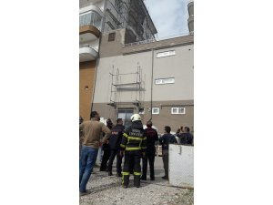 9. kattan düşen işçi ağır yaralandı