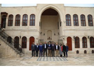 Altındağ Belediye Başkanı Tiryaki'nin Kilis temasları