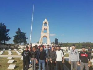 Üniversite öğrencilerine Çanakkale gezisi