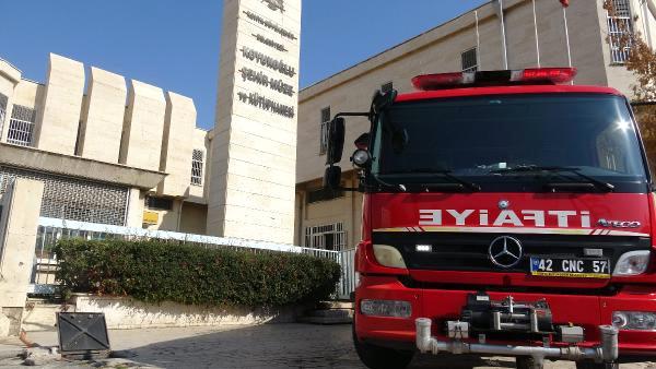 Müzedeki Tadilat Sırasında Yangın Çıktı