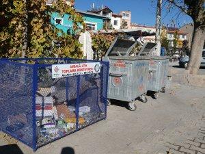 Bozkır'da atıklar geri dönüşüme kazandırılıyor
