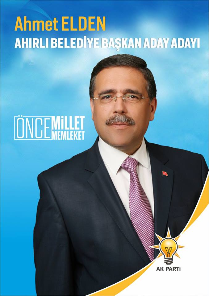 Ahmet Elden aday adayı oldu