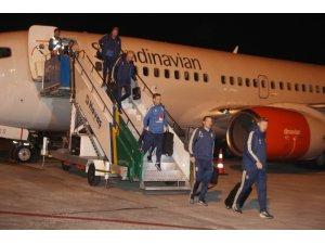 İsveç Milli Takımı, Konya'ya geldi