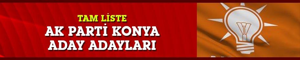 AK Parti Konya belediye başkan adayları
