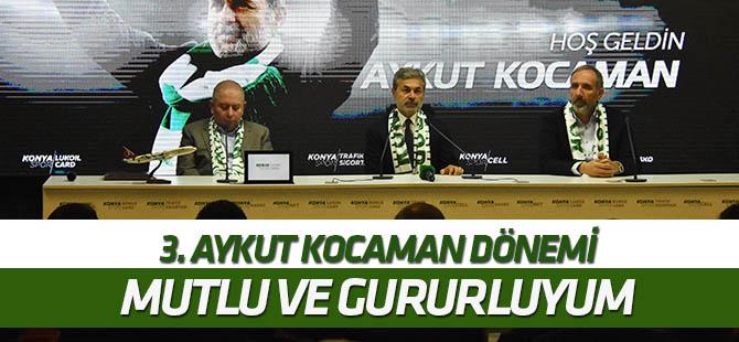 Konyaspor'da 3. Aykut Kocaman dönemi başladı