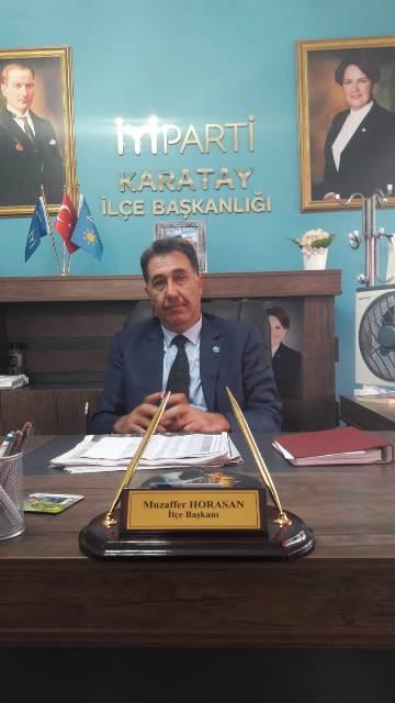 İyi Parti Karatay Horasan'la devam
