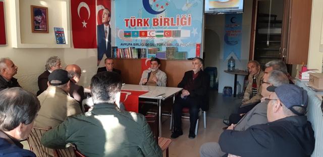 """Göktürk """"Yüce Türk"""" demektir"""