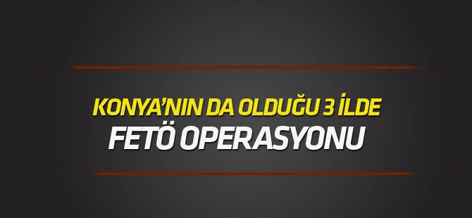 3 ilde FETÖ/PDY operasyonu