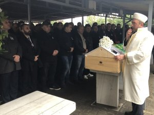 Kazada ölen astrolog son yolculuğuna uğurlandı