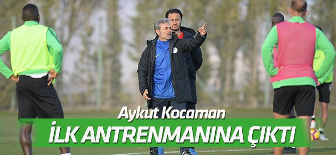 Aykut Kocaman, Konyaspor'da ilk antrenmanına çıktı