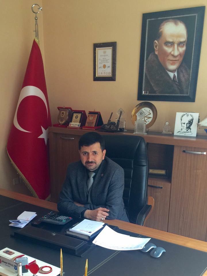 Ahmet Yücel Selçuklu'ya aday adayı oldu