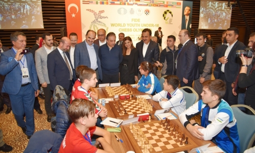 Dünya 16 Yaş Altı Satranç Olimpiyatları Konya'da başladı