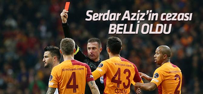Serdar Aziz'in cezası belli oldu