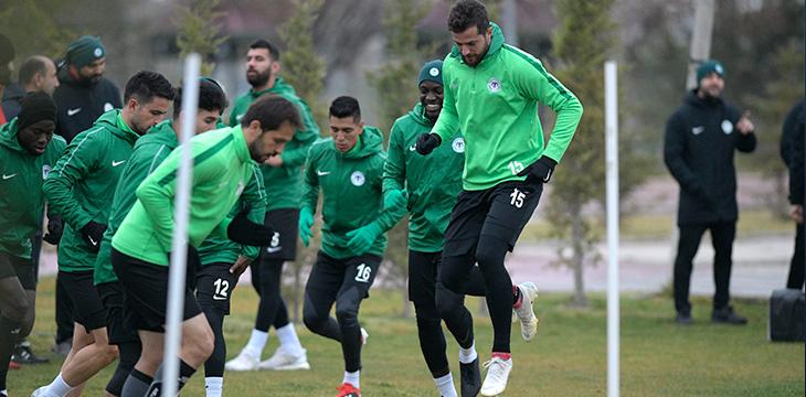 Konyaspor Alanyaspor maçına hazır