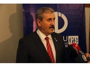 """BBP Lideri Destici: """"HDP ile hiçbir siyasi partinin işbirliği içinde olmaması lazım"""""""