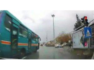 Pes dedirten trafik ihlalleri kameraya yansıdı