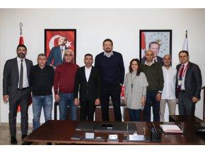 TSYD Ankara Şubesinden Hidayet Türkoğlu'na ziyaret