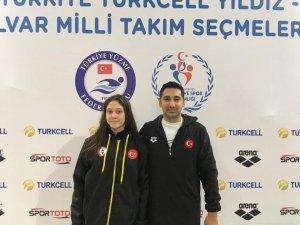 Eskişehirli genç yüzücü Türkiye rekoru kırdı