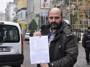 Tehdit aldığını iddia eden yerel gazeteciden suç duyurusu