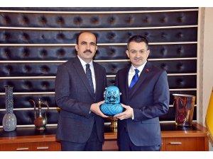 Bakan Pakdemirli'den Başkan Altay'a ziyaret