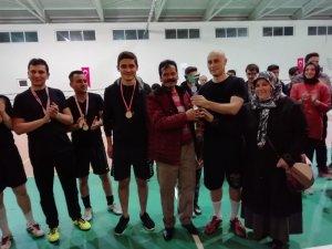Futsal Turnuvası'nda şampiyon Emniyet Polis Gücü takımı oldu