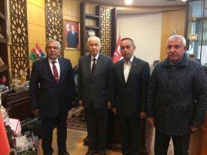 Uçhisar Belediye Başkanı Karaaslan, aday adaylık başvurusunda bulundu