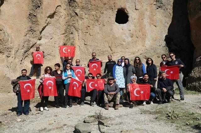 Kontra- Konya Trekking Grubu, gezilere devam ediyor