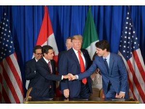 ABD, Meksika ve Kanada liderleri NAFTA'nın yerini alacak anlaşmayı imzaladı