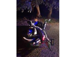 İznik'te motosikletten düşen sürücüsü ağır yaralandı
