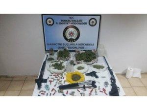 Tunceli'de uyuşturucu operasyonu:1 şüpheli tutuklandı