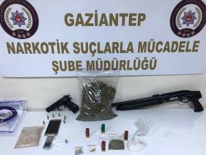 10 adrese eş zamanlı uyuşturucu operasyonu: 7 gözaltı