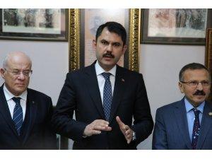 Çevre Bakanı Kurum, poşet kanunundan sonra şişe ve kaplar için de uygulama geleceğini duyurdu