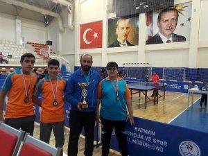 Haliliye Belediyespor Masa Tenisi takımı başarı sağladı