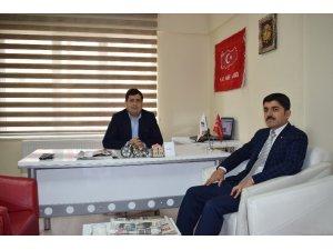 AK Partili İnce'nin seçim çalışmaları sürüyor