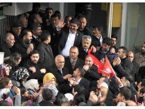 AK Parti adayı Yunus Baydar'a coşkulu karşılama