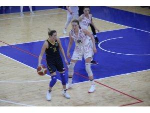 Türkiye Kadınlar Basketbol 1. Ligi: Elazığ İl Özel İdare: 83 - Mardin Büyükşehir Belediye: 49