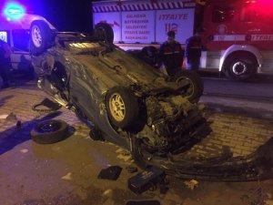 Edremit ve Ayvalık'ta kaza: 2 yaralı
