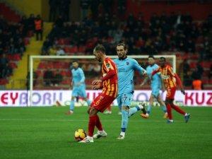 Spor Toto Süper Lig: Kayserispor: 0 - Trabzonspor: 2 (Maç sonu)
