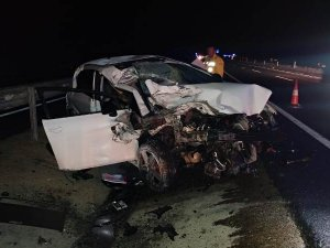 Konya'da trafik kazası: 2 ölü, 1 yaralı